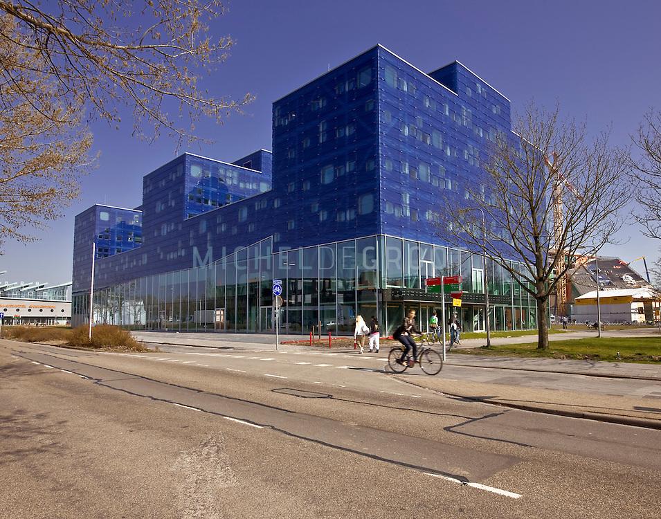 Bernoulli gebouw van de RuG op het Zernike complex in Groningen, The Netherlands on April  03, 2009. (photo by Michel de Groot)