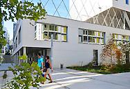 Boulogne-Billancourt, ecole primaire Robert Doisneau, quartier Rives de Seine