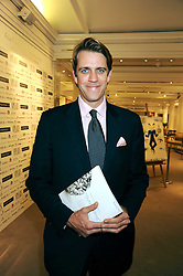 BEN ELLIOT at the Spear's Wealth Management Awards held at Sotheby's, 34-35 New Bond Street, London on 29th September 2008.