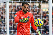 Rui Patricio of Wolverhampton Wanderers during the Premier League match between Wolverhampton Wanderers and Aston Villa at Molineux, Wolverhampton, England on 10 November 2019.