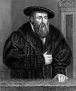 Johannes Kepler (1571-1630) German astronomer. Engraving