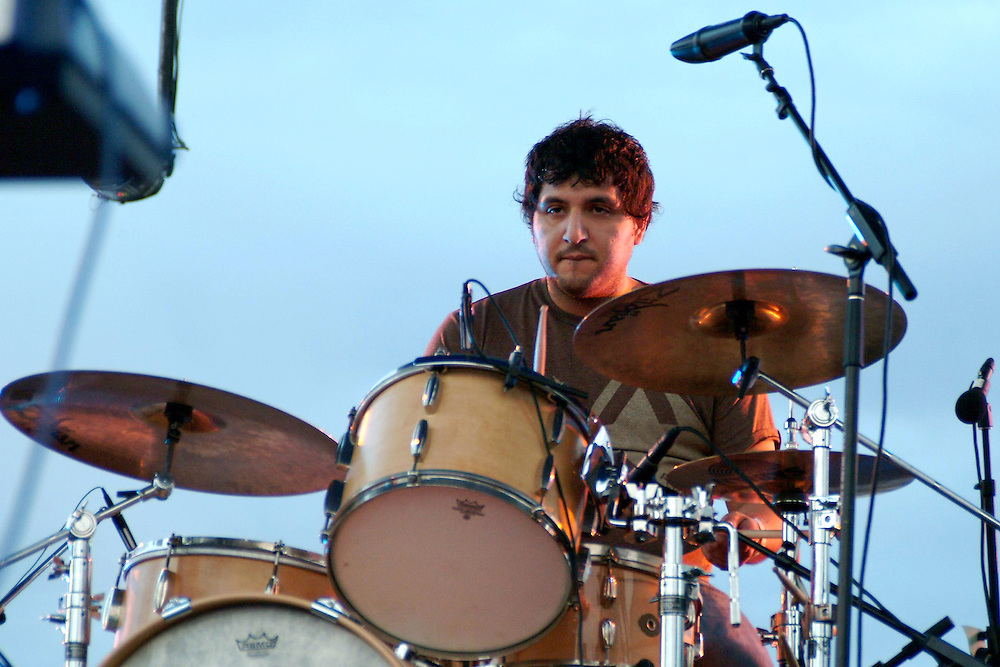 Jesse Sandoval of The Shins at All Tomorrow's Parties at the Queen Mary in Long Beach, CA 11/07/2004. ..