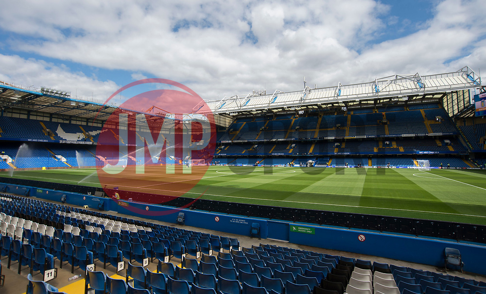 General view inside Stamford Bridge. - Mandatory by-line: Alex James/JMP - 12/08/2017 - FOOTBALL - Stamford Bridge - London, England - Chelsea v Burnley - Premier League
