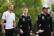 April 15-17, 2016: Chinese Grand Prix, Shanghai, Stoffel Vandoorne (BEL), McLaren Honda, Jenson Button (GBR), McLaren Honda, Fernando Alonso (SPA), McLaren Honda