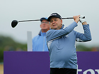 Golf - 2019 Senior Open Championship at Royal Lytham & St Annes - Fiinal Round <br /> <br /> Andrew Oldcorn (SC0) on the 18th tee..<br /> <br /> COLORSPORT/ALAN MARTIN