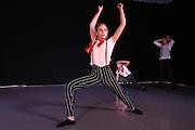 Mannheim. 10.02.17 | BILD- ID 084 |<br /> Dance Professional Mannheim zeigt eine Jahres-Show, in der sich junge Tanztalente präsentieren, die sich momentan auf eine Tanzausbildung vorbereiten.<br /> - Alisa Behnke, Marta Lufinha, Andre Meyer<br /> Bild: Markus Prosswitz 10FEB17 / masterpress (Bild ist honorarpflichtig - No Model Release!)