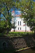 View of the Cathedral of Theotokos, Old Town, Senamiestas, Vilnius, Lithuania