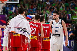 Gasper Vidmar of Slovenia after the Final basketball match between National Teams  Slovenia and Serbia at Day 18 of the FIBA EuroBasket 2017 at Sinan Erdem Dome in Istanbul, Turkey on September 17, 2017. Photo by Vid Ponikvar / Sportida