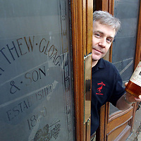 Derek Brown of Famous Grouse Whisky who are appealing for old 'Grouse related items' for the new 'Famous Grouse experience being constructed at Glenturret Distillery.<br />