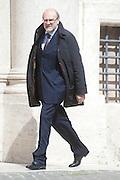 2013/03/19 Roma, parlamentari in Piazza Montecitorio. Nella foto Lorenzo Dellai.<br /> Rome, parliamentarians in Montecitorio Square. In the picture Lorenzo Dellai - &copy; PIERPAOLO SCAVUZZO