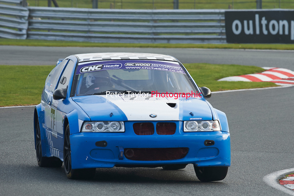 #77 Steven  PARKER BMW Compact during CNC Heads Sports/Saloon Championship - Race 2  as part of the BARC Championships Race Day at Oulton Park, Little Budworth, Cheshire, United Kingdom. October 03 2015. World Copyright Taylor/PSP. Copy of publication required for printed pictures.  Every used picture is fee-liable. http://archive.petertaylor-photographic.co.uk