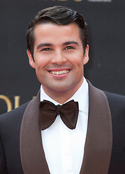 Joe McElderry arriving for The Olivier Awards at the Royal Albert Hall in London.