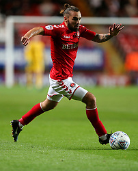 Charlton Athletic Ricky Holmes in action