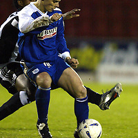 St Johnstone v Newcastle Utd Jim Weir Testimonial..08.05.04  <br />Ross Forsyth<br /><br />Picture by Graeme Hart.<br />Copyright Perthshire Picture Agency<br />Tel: 01738 623350  Mobile: 07990 594431