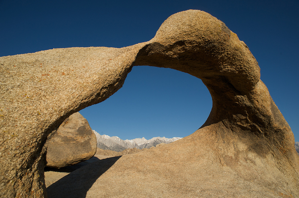 Mobias Arch and Mt. Whitney, A Classic View