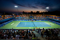 Centre court at 1st Round of Banka Koper Slovenia Open WTA Tour tennis tournament, on July 21 2009, in Portoroz / Portorose, Slovenia. (Photo by Vid Ponikvar / Sportida)