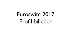 20170904 Euroswim 2017 - Gruppe og profil billeder af svømmere