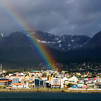 Ushuaia, Argentina is commonly viewed as the southernmost city on Earth.  The city is the capital of the Tierra del Fuego, Antartida e Islas del Atlantico Sur Province, Argentina.