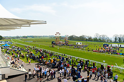 A general view of Bath Racecourse during the Good Friday Race Meeting - Ryan Hiscott/JMP - 19/04/2019 - PR - Bath Racecourse- Bath, England - Good Friday Race Meeting at Bath Racecourse