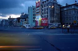 TURKEY ISTANBUL JUL02 - Housefront in Eminönü, downtown Istanbul...jre/Photo by Jiri Rezac..© Jiri Rezac 2002..Contact: +44 (0) 7050 110 417.Mobile:   +44 (0) 7801 337 683.Office:    +44 (0) 20 8968 9635..Email:     jiri@jirirezac.com.Web:     www.jirirezac.com