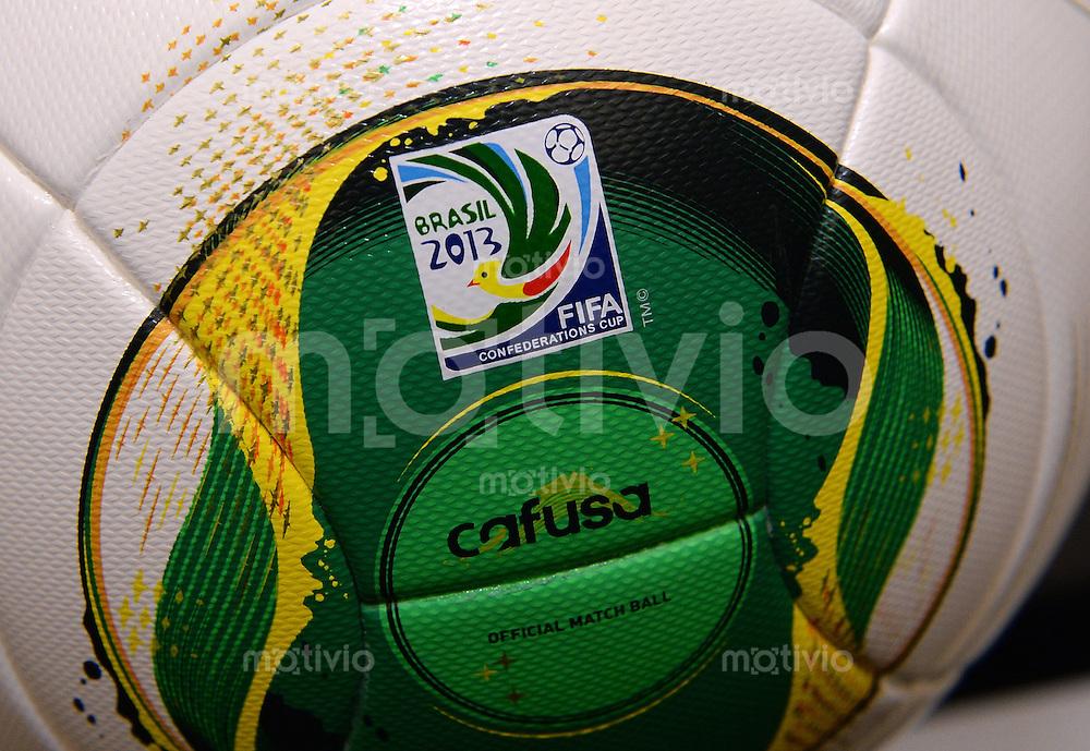 FUSSBALL International  FIFA Konfoederations Cup 2013   19.04.2013 Adidas Spielball Cafusa