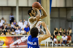 Brandon Jefferson #13 of KK Union Olimpija during basketball match between KK Union Olimpija and KK Rogaska in 4th Final game of Liga Nova KBM za prvaka 2016/17, on May 24, 2017 in Hala Tivoli, Ljubljana, Slovenia. Photo by Vid Ponikvar / Sportida