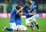 Fussball WM Quali 2014: Italien - Daenemark