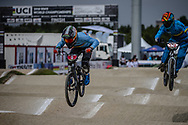 Cruiser - 13 & 14 Men #5 (LAENEN Seppe) BEL at the 2018 UCI BMX World Championships in Baku, Azerbaijan.