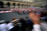 Finish of the Tour de France, Rue de Rivoli, Paris, France