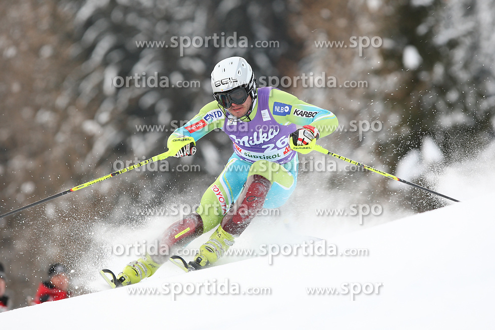 ALPINE SKI WORLD CUP ALTA BADIA 2009..© Photo Pierre Teyssot / Sportida.com. DRAGSIC Mitja during the Men's Slalom of the Audi FIS Ski World Cup 2009/10 on Monday December the 21st, 2009 in Alta Badia, South Tyrol, Italy.