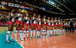 09-07-2017 NED: World Grand Prix Dominican Republic - Thailand, Apeldoorn<br /> Match six of first weekend of group C during the World Grand Prix / Team Dominican Republic