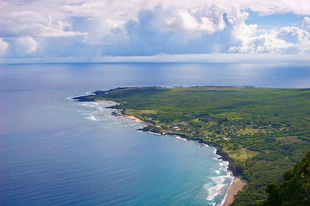 Kalaupapa Peninsula and Kalaupapa National Historic Site, Molokai, Hawaii.