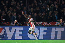 23-10-2019 NED: Champions League AFC Ajax - Chelsea, Amsterdam<br /> Ajax lost 1-0 / Ajax midfielder Quincy Promes #11 scores 1-0 but the VAR rejects the goal