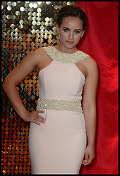Georgia May Foote attends the British Soap Awards 2014 at the Hackney Empire, London, United Kingdom. Saturday, 24th May 2014. Picture by Andrew Parsons / i-Images