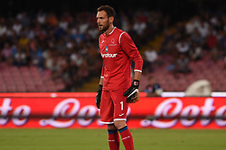 August 27, 2017 - Naples, Naples, Italy - Etrit Berisha of Atalanta BC during the Serie A TIM match between SSC Napoli and Atalanta BC at Stadio San Paolo Naples Italy on 27 August 2017. (Credit Image: © Franco Romano/NurPhoto via ZUMA Press)