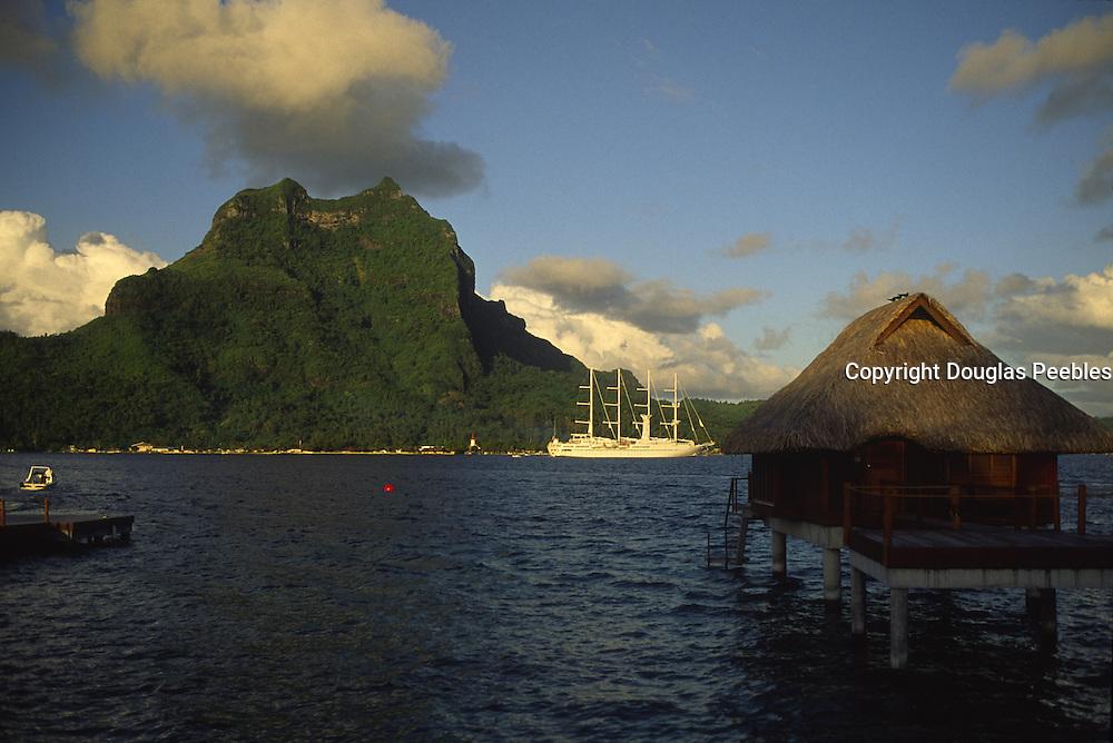 Bora Bora Lagoon Resort, Mt. Otemanu, Bora Bora, French Polynesia<br />
