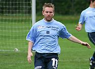 FODBOLD: Thomas Ryttov (Helsingør) under kampen i Kvalifikationsrækken, pulje 1, mellem AB og Elite 3000 Helsingør den 20. maj 2006 på Skovdiget Idrætsanlæg. Foto: Claus Birch