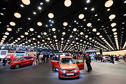 View of Renault stand at Paris Motor Show 2016
