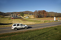 The Mountain Research Station and farms in Haywood County.