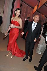 SIR BEN KINGSLEY and DANIELA LAVENDER at the Raisa Gorbachev Foundation Gala held at the Stud House, Hampton Court, Surrey on 22nd September 22 2011