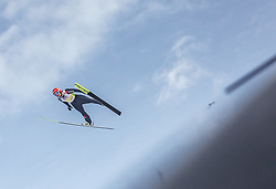 02.03.2019, Seefeld, AUT, FIS Weltmeisterschaften Ski Nordisch, Seefeld 2019, Skisprung, Mixed Team Bewerb, im Bild Katharina Althaus (GER) // Katharina Althaus of Germany during the mixed team competition in ski jumping of nordic combination of FIS Nordic Ski World Championships 2019. Seefeld, Austria on 2019/03/02. EXPA Pictures © 2019, PhotoCredit: EXPA/ Stefanie Oberhauser