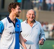 AMSTELVEEN   - Hurley coach Reinoud Wolff.  1e wedstrijd Hurley-Almere (2-2), Hurley wint so.  play offs/ Play outs.   COPYRIGHT  KOEN SUYK