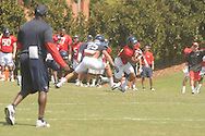 Ole Miss football practice in Oxford, Miss. on Wednesday, August 8, 2012.