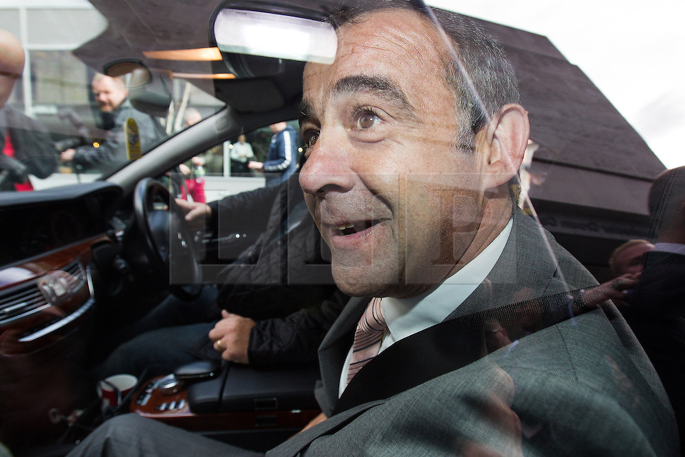 © Licensed to London News Pictures . 10/09/2013 . Manchester , UK . MICHAEL LE VELL (aka Michael Turner ) in his car outside Manchester Crown Court this afternoon (Tuesday 10th September 2013) after being cleared of all charges . The actor , who plays mechanic Kevin Webster in Coronation Street , was charged with a series of offences including rape , sexual activity with a child and indecent assault . Photo credit : Joel Goodman/LNP