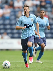 New Newcastle United signing Javier Manquillo in action - Mandatory by-line: Jack Phillips/JMP - 22/07/2017 - FOOTBALL - Deepdale - Preston, England - Preston North End v Newcastle United - Pre-Season Club Friendly