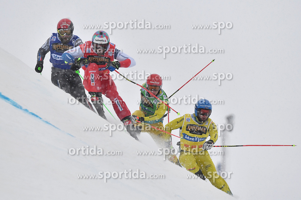 14.01.2018, Idre Fjall, Idre, SWE, FIS Weltcup Ski Cross, Idre Fjall, im Bild // during the FIS Ski Cross World Cup at the Idre Fjall in Idre, Sweden on 2018/01/14. EXPA Pictures © 2018, PhotoCredit: EXPA/ Nisse Schmidt<br /> <br /> *****ATTENTION - OUT of SWE*****