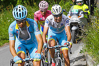 Aru Fabio / Landa Meana Mikel - Astana - 26.05.2015 - Tour d'Italie - Etape 16 - Pinzolo / Aprica<br />