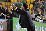 DESCRIZIONE : Roma Lega A 2014-15 Acea Roma Granarolo Bologna<br /> GIOCATORE : Federico Fucà<br /> CATEGORIA : coach allenatore ritratto<br /> SQUADRA : Acea Roma<br /> EVENTO : Campionato Lega A 2014-2015<br /> GARA : Acea Roma Granarolo Bologna<br /> DATA : 04/01/2015<br /> SPORT : Pallacanestro <br /> AUTORE : Agenzia Ciamillo-Castoria/GiulioCiamillo<br /> Galleria : Lega Basket A 2014-2015<br /> Fotonotizia : Roma Lega A 2014-15 Acea Roma Granarolo Bologna