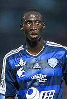 Christophe Diedhiou - 07.08.2015 - Creteil / Bourg Peronnas - 2eme journee de Ligue 2<br /> Photo : Andre Ferreira / Icon Sport