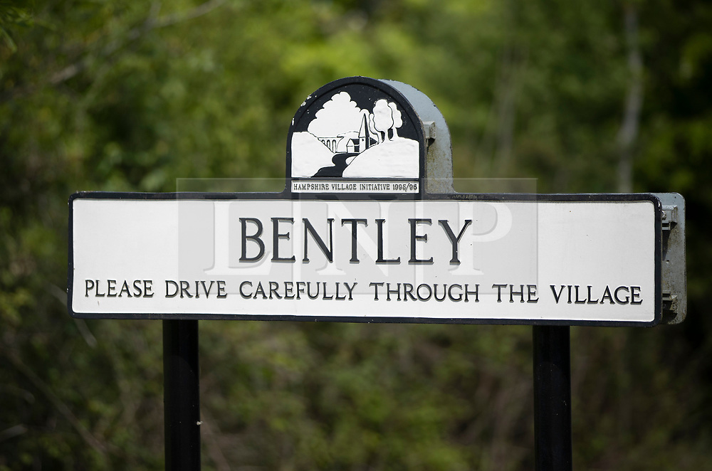 © Licensed to London News Pictures. 12/05/2020. Bentley, UK. Bentley in Hampshire where a search has been carried out for British diplomat Richard Morris who has gone missing from his home after going for a run on May 6, 2020. Police are appealing for local residents to search their gardens and out buildings as concern grows for Mr Morris. Photo credit: Peter Macdiarmid/LNP